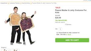 Peanut Butter And Jelly Costume Halloween Costumes U2013 Make Or Buy Easy Make And Inexpensive