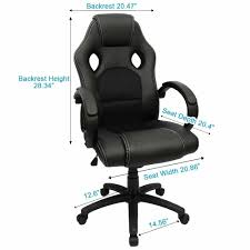 furmax office chair high back pu leather computer chair ergonomic