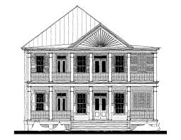 Classical House Plans The Cumberland House Plan C0022 Design From Allison Ramsey