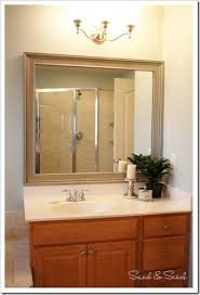 best 25 frame bathroom mirrors ideas on pinterest framed