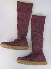 twisted boots womens australia ugg australia the knee twisted cable knit boots womens 7