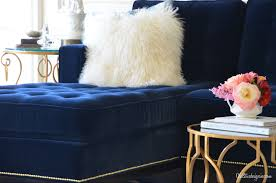 unique velvet blue sofa new tatsuyoru com