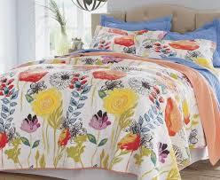 dream floral quilt set