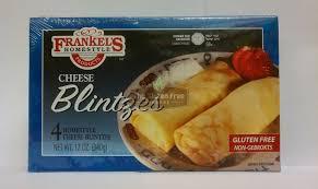 gluten free passover products frankel s gluten free cheese blintzes misc gluten free