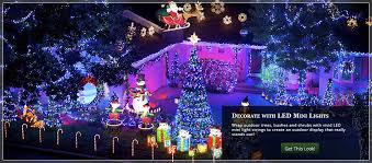 led lights decoration ideas outdoor christmas yard decorating ideas
