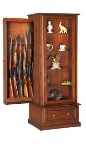 gun cabinet for sale wood gun cabinets gun racks rifle handgun displays