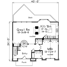 plans com contemporary style house plan 3 beds 2 50 baths 1711 sq ft plan