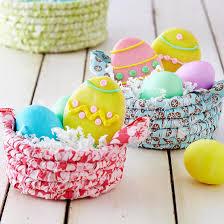 easter egg baskets to make easy easter baskets