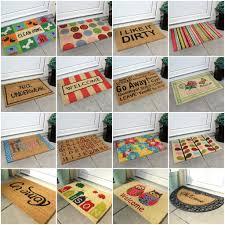 Coco Doormat Front Door Mat Design U2014 Home Ideas Collection Good And Welcoming