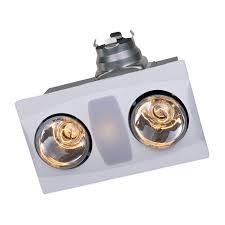 Bathroom Infrared Heat Light Aero Llc A515a Combination Heater 2 Light Bathroom Fan The Mine