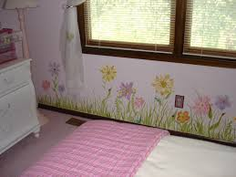 murals for girls rooms flower mural for girls room 160 flower