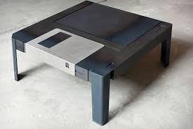 Gaming Coffee Table Floppytable Brings Retro Storage To Your Living Room