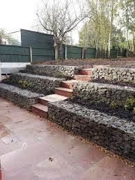 Average Cost Of Landscaping by Low Cost Gabion Stepped Retaining Walls Cheaper Than Block Stone