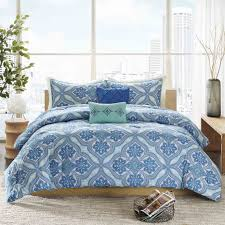 bedroom 5 piece blue magical thinking bedding for bed accessories