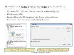 membuat database akademik dengan mysql praktikum membuat database menggunakan netbeans ppt download