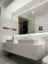 Mirror Bathroom Tiles 13 Beveled Silver Mirror Glass Mosaic Tiles Kitchen
