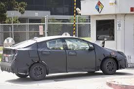 Interior Of Toyota Prius 2017 Toyota Prius Reveals Interior Configuration In Latest Batch