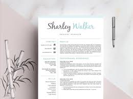 Resume Templates With Cover Letter 23 Best Resume Template Cover Letter Professional U0026 Modern