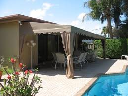Awning Furniture Patio Patio Furniture Sets With Brown Awning Design Ideas Near