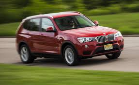bmw jeep red 2015 bmw x3 xdrive35i test u2013 review u2013 car and driver