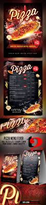 menu flyer template pizza menu flyer template by take2design graphicriver