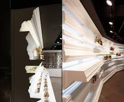 Interior Columns Design Ideas Column Edging Bakery Shelves Interior Design Ideas