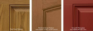 Stain For Fiberglass Exterior Doors Heritage Fiberglass Entry Doors Custom Sizes Glass Sidelites