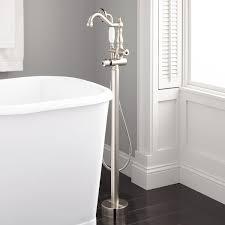 Floor Mount Tub Faucets Floor Mount Freestanding Tub Fillers Signature Hardware