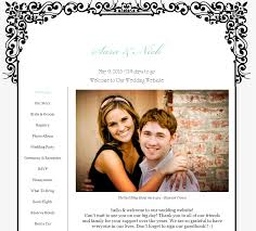 our wedding website creating your own wedding website