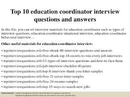 top10educationcoordinatorinterviewquestionsandanswers 150401082934 conversion gate01 thumbnail 4 jpg cb u003d1427895026