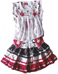 girls cotton dresses kids cotton dresses green 4 5 years at