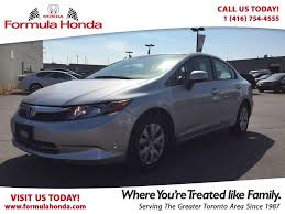 nissan canada in scarborough used 2012 honda civic lx accident free low km for sale in