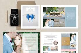 Wedding Magazine Template Wedding Photographer Magazine Brochure Templates Creative Market