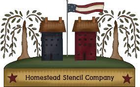homestead stencil company primitive sign stencils and wall