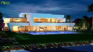 Home Design Qatar 3d Exterior Night View Pool Design Qatar Arch Student Com