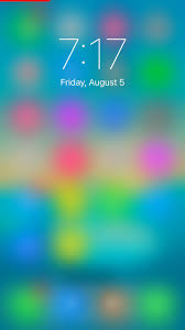 lockshot shows a blurred view of what u0027s behind your lock screen