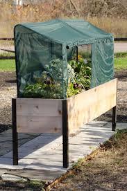 planter box frame and 2 covers kit 2 u0027 x 8 u0027 green state gardener