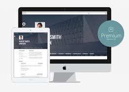 Resume Portfolio Template 10 Free Bootstrap Html Online Resume Templates For Cv Website 2016
