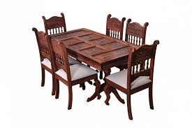 royal sheesham wood dining table set fusion of rich victorian