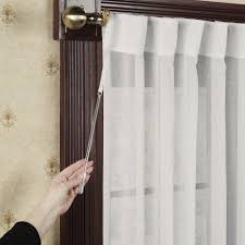 Sheer Panel Curtains Lucerne Semi Sheer Patio Curtain Panels
