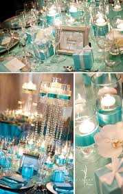 Tiffany Blue Party Wedding Decor Table Setting Ideas - Design a table setting