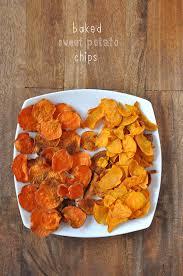 baked sweet potato chips baked sweet potato chips sweet potato