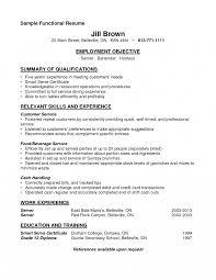 functional resume description waiter or waitress job description template collection of