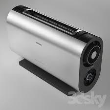 siemens porsche design toaster 3d models kitchen appliance toaster siemens porsche design