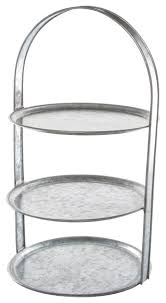 galvanized cake stand 3 tier galvanized cake stand industrial dessert and cake