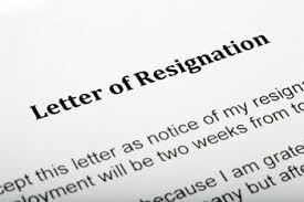 how to resign with a smooth transition