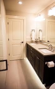 toe kick lighting in bathroom interiordesignew com