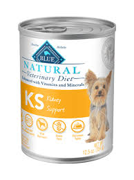 kidney support dog food blue natural veterinary diet ks wet dog