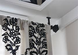 Ceiling Mount Drapery Rod Ceiling Mount Curtain Rods