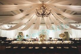 wedding drapes wedding 10 pieces ceiling drape canopy drapery for decoration